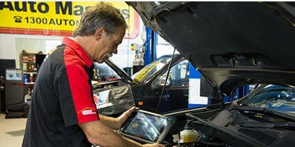 Auto Master technician