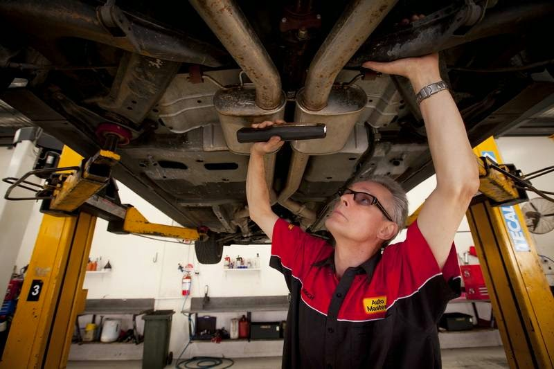 Auto Masters Exhaust System Check