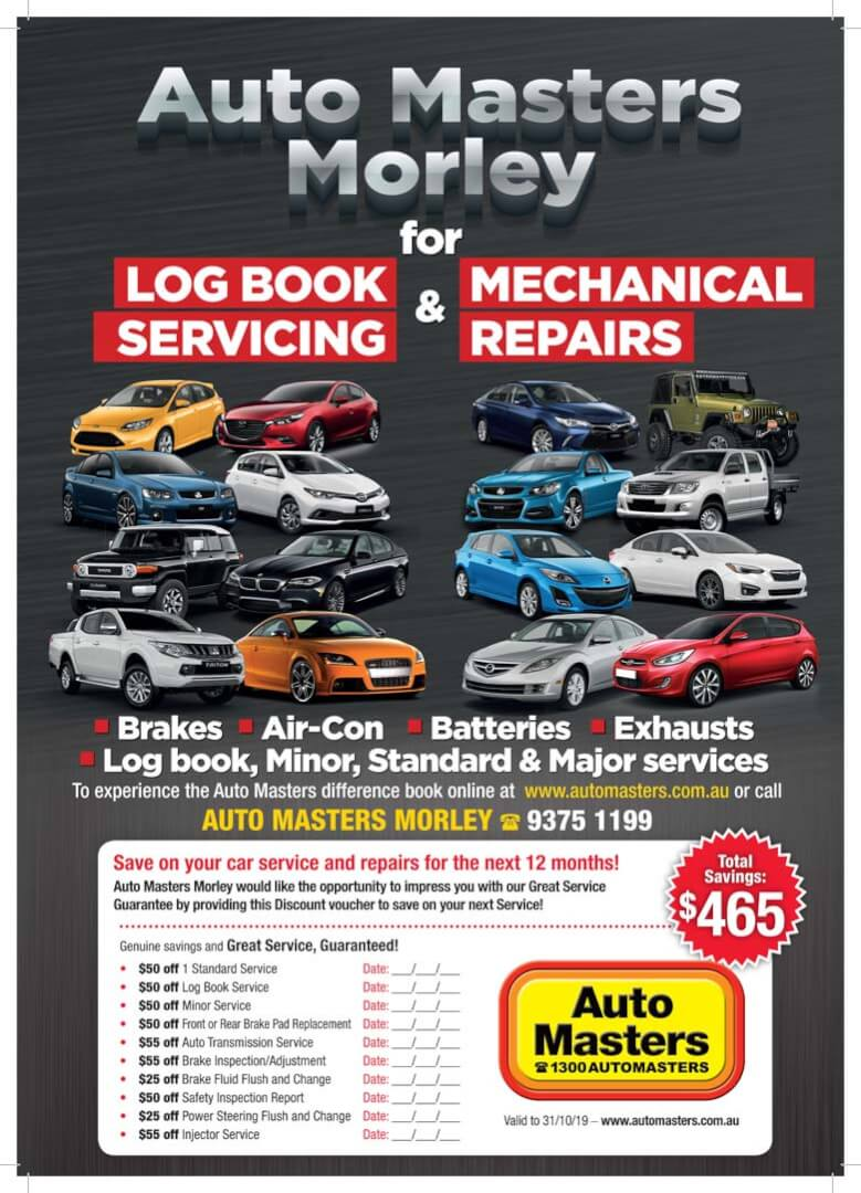 Auto Masters Morley Loyalty Voucher